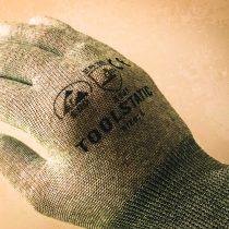 Antistatic gloves with polyurethane coated fingertips 3