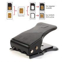 Universal 3 in 1 Sim- Micro Sim- Nano Sim Card Cutter