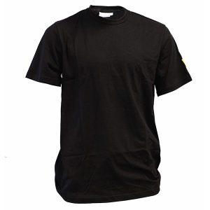 T-shirt czarny esd