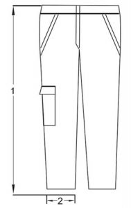 spodnie antystatyczne